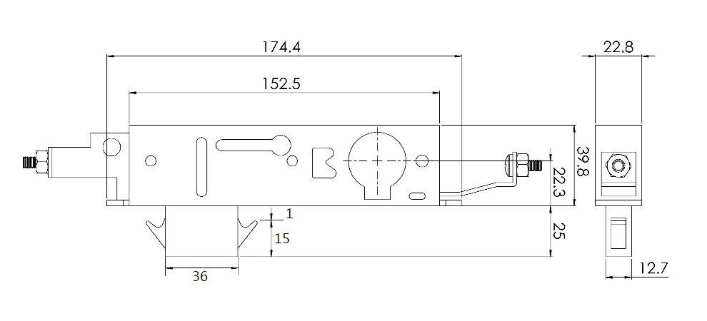 Amazing Drawing Of 3 Point Garage Door Lock