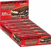 MuscleMeds Carnivor Soft Baked Protein Bars, 1 - 91g Bar