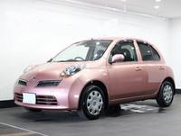 USED CARS - NISSAN MARCH (RHD 820894 GASOLINE)