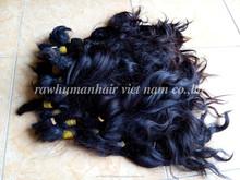 Virgin human hair Combodia , natural wavy - best price