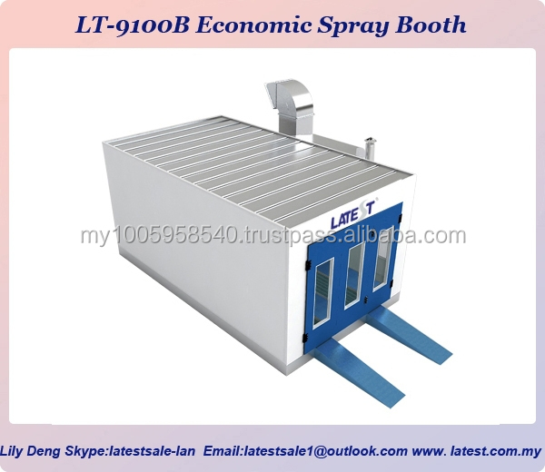 Lt 9100c Cheap Car Paint Spray Booth Paint Booth And