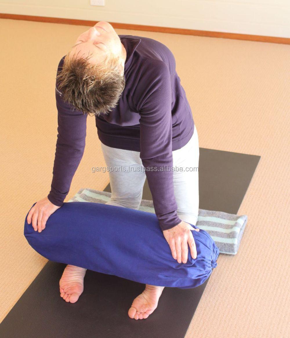 Как сшить болстер для йоги своими руками