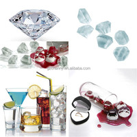 Brand New Clear Ice Cube Tray Mold Diamonds Shape Glasses Freeze Mould Novelty Gift Party Excellent Quality