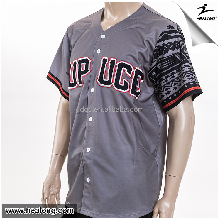 Wholesale healong design your own screen printing custom for Customize your own baseball shirt