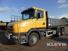 Scania tipper T 144.460 V8 (226771)