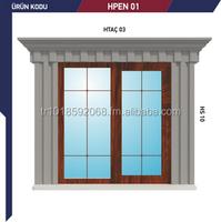 door & window frame,window fills ,window crown ,floor striger,laths,corner elements,fuga ,coating components,butterers ,colaums