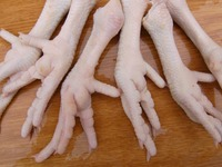 Grade A Processed Frozen Chicken Feet/Paws for sale.