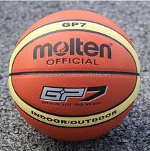 Laminated leather basket ball