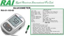 Blood Sugar Test Meter Blood Glucose Meter Glucose Monitor Glucometer