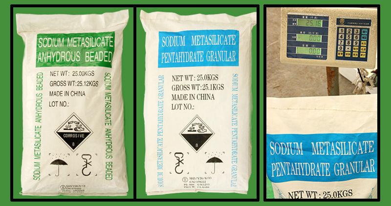 sodium metasilicate detergent grade pentahydrate and anhydrous price