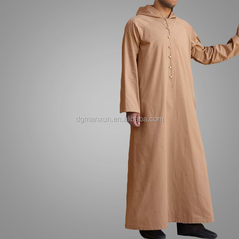 Latest muslim men hooded thobe cheap saudi men thobe2.jpg