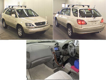 japanese products high quality second hands 2000 toyota harrier cars suv used sale 4WD from japan good condition GF-SXU10W