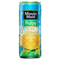 MINUTE MAID PULPY FRUIT BITE MANGO CAN 240ml