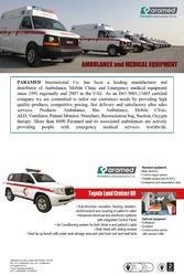 Toyota Land Cruiser G9 Ambulance