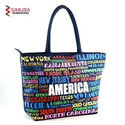 Tote Bags from Bangladesh with 7 Colour Print