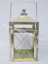 decorative metal candle lantern for weddings centerpiece and glass lantern for festival celebrated