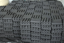 Top Quality 100 % Hardwood Sawdust Briquette Charcoal Hexagonal