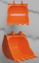 0.05-1.05 Cubic Meter Excavator Ditching Bucket With Teeth