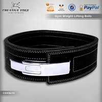Lever Genuine Leather Weight Lifting Belt / Custom Weight Lifting Belt / Power Lifting Gym Body Building Belts