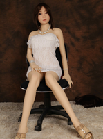 Office Sexy Girl TPE Silicone Sex Doll Asian Black Hair Japanese Face Love Doll Adult Men Masturbate Toy Vagina, Anal, Oral Sex