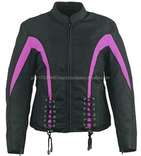 Codura Motorcycle Jacket with CE Body Armor Street Bike