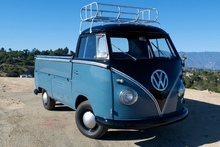 VW BUS DELUXE 1962 SINGLE CAB
