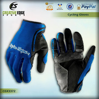 Troy Lee Designs TLD XC MX Breathable Cycling Gloves / 2014 Custom Full Finger Cycling Gloves / Specialized Blue Cycling Gloves