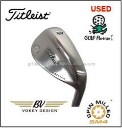 low-cost forged iron golf club heads and Used Wedge Titleist VOKEY SPIN MILLED SM4 Tour Chrome at reasonable prices , best selli