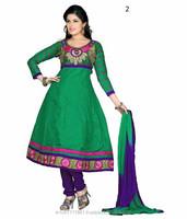 Party Wear Cotton Anarkali At Low Range