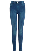 branding wholesale destroyed skinny jeans with single button closure, belt loops, five pocket design, distressed detail