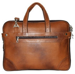Excellent laptop leather bag