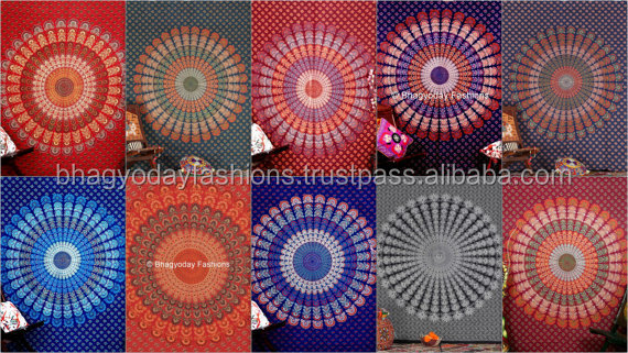 Wholesale Lot Best Discount Deal of 10 Mandala Tapestry