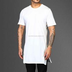The Basic Long Tail Tee Round Neck Plain T Shirt
