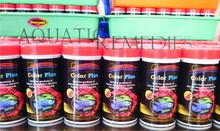 > 40 % Protein rich Aquarium Fish Food COLOR PLUS - Natural multi -color enhancing fish food formula