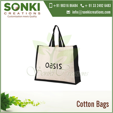 Standard Factory Supplier of Cotton Canvas Tote Bags