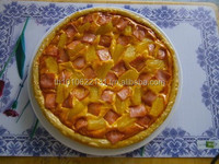 wholesale and customized pvc artificial pizza fake food for display