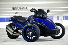Latest Offer For Strasse Wheels - Can Am Spyder RS - Signature Series SM8 Motorcycles