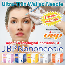 Ultra-thin walled hypodermic needle with CE Mark and FDA certified