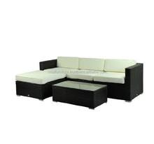 Rattan Wicker Garden Furniture Patio Conservatory Sofa 5 PEICES NFRT12