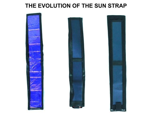 Солнце ремень солнечной зарядное устройство, которое подходит любую Сумку или ремень фотокамеры, солнечные камеры ремешок для продажи