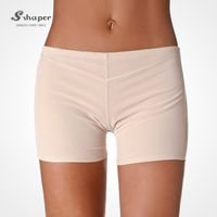S-SHAPER 2015 Hot Sale Women`s Fullness Girdle Butt Lifter Boy Shorts Enhancer Shapewear Panty