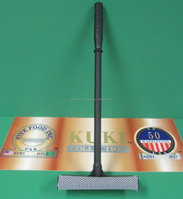 """Kuki Collection 8"""" Squeegee Head With 20"""" Black Plastic Handle"""