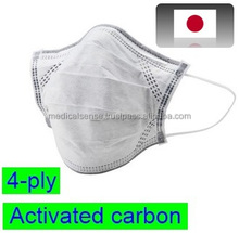 Reliable and high-quality mask with active carbon air filter for infection prevention