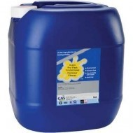 Pro-Wash Concentrated Container Cleaner for oil and grease from metal, concrete, plastic, vinyl, and wood surfaces.