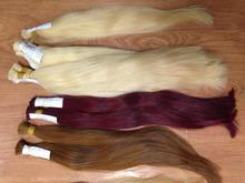 color hair all color no synthetic fiber 100% virgin hair human hair