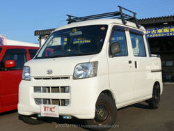 Popular used japanese mini trucks HIJET CARGO 2007 used car with Good Condition