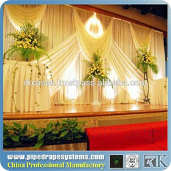 aluminum pipe and drape stands/ backdrop for wedding party