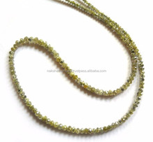 Natural Multi & Mix Colour Diamond Roundell Faceted Loose Beads Strand