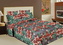 BRAND NEW LUXURY Mughal Floral Duvet Cover Kashmir Print Reversible Cotton Indian Bedding Queen bedsheet