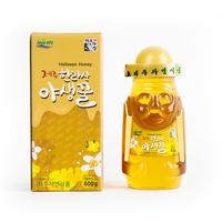 Halla Natural Honey 1.4lb (600g) Nourishing Jeju Natural Wild Flowers Honey Bees